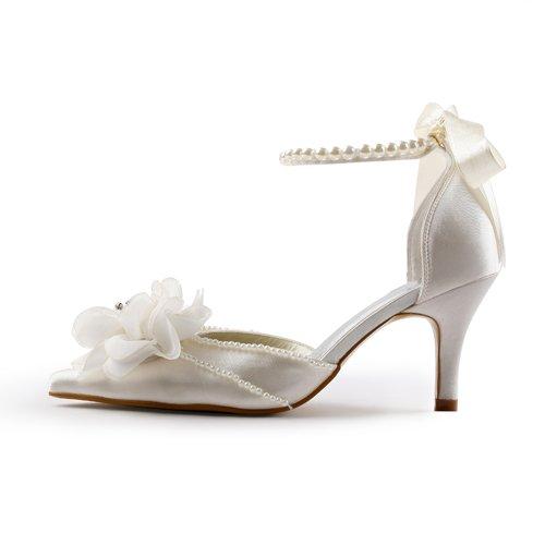 Jia Jia Wedding 3736 chaussures de mariée mariage Escarpins pour femme Beige