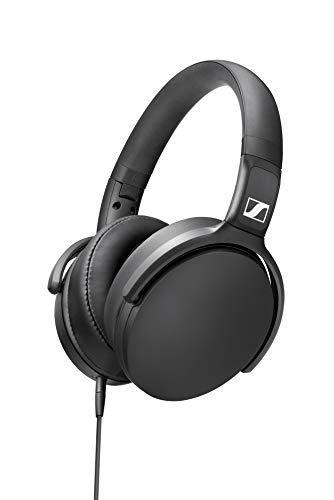 Sennheiser HD 400S Over-Ear Headphone with Smart Remote - Black Best Price and Cheapest