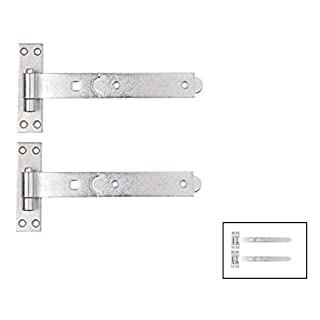 Gate Hinges Straight 300mm 12
