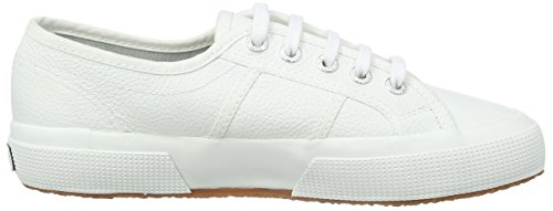 Superga 2750 Ukfglu, Baskets Basses Mixte Adulte Blanc - Weiß (900)