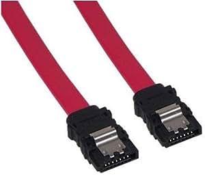 Datenkabel S-ATA 3Gb/s Kabel 50cm gerade mit Sicherheitslasche