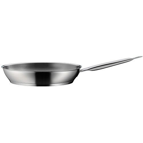 WMF frying pan uncoated Ø 24cm Gourmet Plus Made in Germany pouring rim stainless steel handle Cromargan stainless steel suitable for induction dishwasher-safe