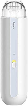 Baseus Wireless A2 Car Vacuum Cleaner with 5000Pa Powerful Suction For Home, Car and Office (white)