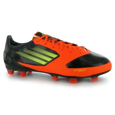 Adidas F30TRX FG Messi, Fußballschuhe Herren schwarz / orange
