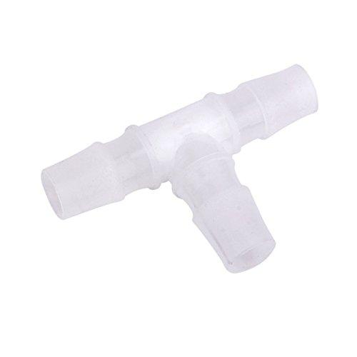 SODIAL (R) 16 mm Equal T-connettore tubo spinato falegnami tubo aria acqua comune in plastica