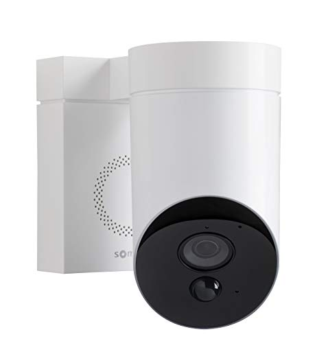 31al13KBCYL [Bon Plan Smarthome!]  Somfy 2401560 - Outdoor Camera | Caméra de surveillance extérieure Wifi | 1080p Full HD | Sirène 110 dB | 3 branche...