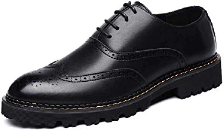 LYZGF Les Hommes d'automne d'hiver d'affaires Chaussures De Mariage De Occasionnels Mode épaississement Occasionnels De 82e5ae