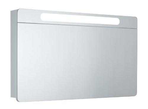 Badezimmerspiegelschrank Mebasa - vertikale Öffnung