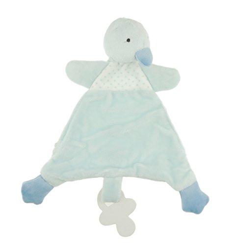 en Jungen Baby Super Soft Fleece quadratisch Tröster Dou Dou Ente Chick ()