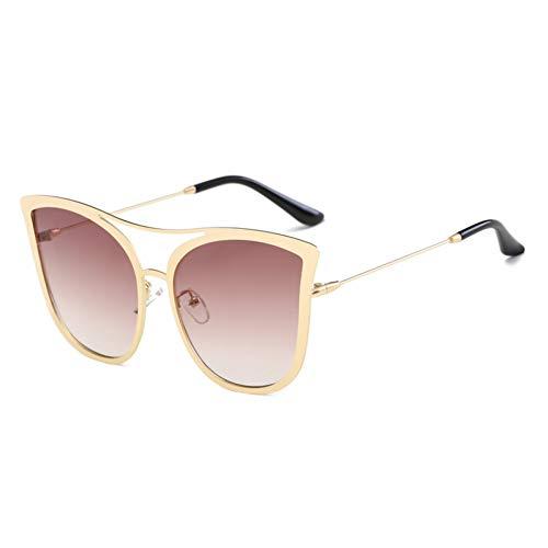 WZYMNTYJ Cat Eye Sonnenbrille Frauen große größe Sonnenbrille modemarke Designer für weibliche Sonnenbrille übergroßen Damen Eyewear uv400