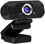 1080P USB Webcam Manual Focus Computer Camera Built-in Sound-absorbing Microphone Drive-free Web Camera for PC