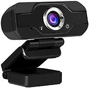 كاميرا فيديو فيديو بدقة 1080 بكسل بكاميرا فيديو يدوية للتصوير بالمايكروفون مدمج ماص للصوت بدون محرك كاميرا ويب