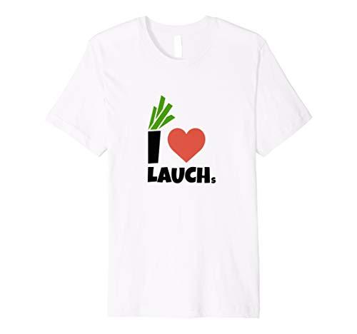 I Love Lauchs   Jogger Fitness Fun Spass T-Shirt (Spaß Crossfit Shirts)