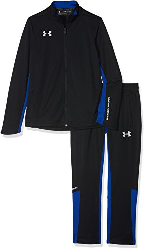 Under Armour Y Challenger II Knit Warm-Up Chándal, Niños, Negro (001), L