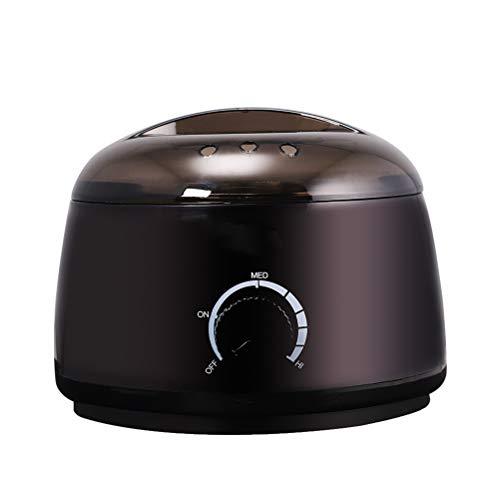 Calentador de cera de belleza profesional eléctrico, termostato rotativo Mini multi-función de cera...