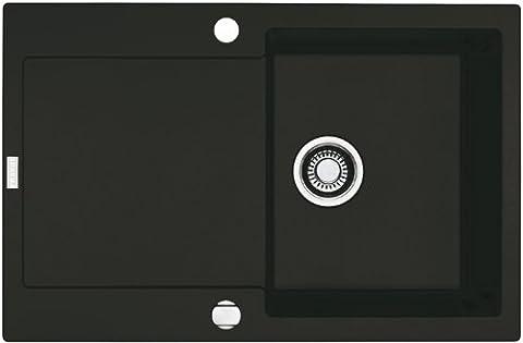 Franke Maris MRG 611 Onyx Fragranit Spüle Schwarz Spültisch Küchenspüle
