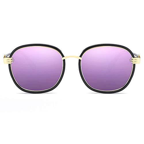 Yiph-Sunglass Sonnenbrillen Mode Premium Sport Acetate Eyewear Brillengestell Polarisierte Sonnenbrille (Farbe : Blau, Größe : Casual Size)