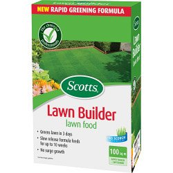 Scotts Lawn Builder alimentaire Lawn carton