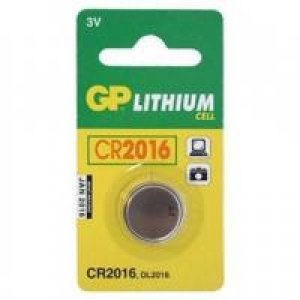 GP BATTERIES GP LITHIUM BUTTON CELL CR2016