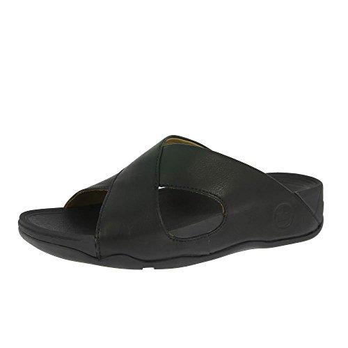 Fitflop , Sandales pour homme Noir Noir All Black