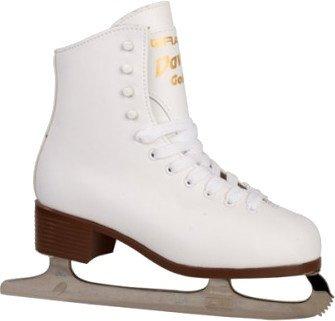 Davos Gold Damen-ART Skate weiß Größe 36