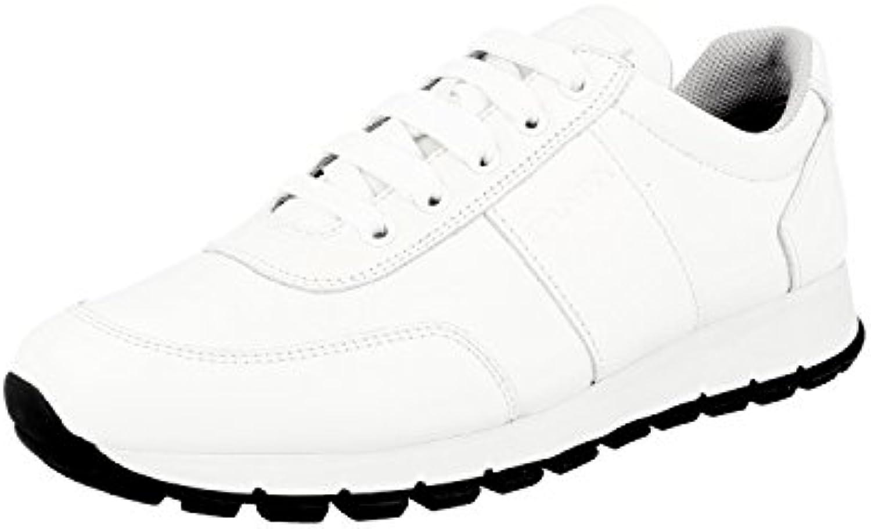 Prada 3E6046 - Zapatillas de Cuero para Mujer