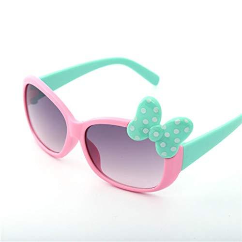 MoHHoM Sonnenbrillen Für Kinder,Fashion Cat Eye Cute Bug Kinder Sonnenbrille Für Junge Mädchen Baby Sonnenbrille Kinder Sport Outdoor Schatten Brillen Uv400 Rosa