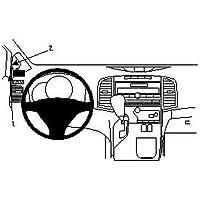 Dokker Dokker Van ab 2012 Piano schwarz Watermark WM-6419 Radioblende Doppel DIN f/ür Renault Dacia Lodgy