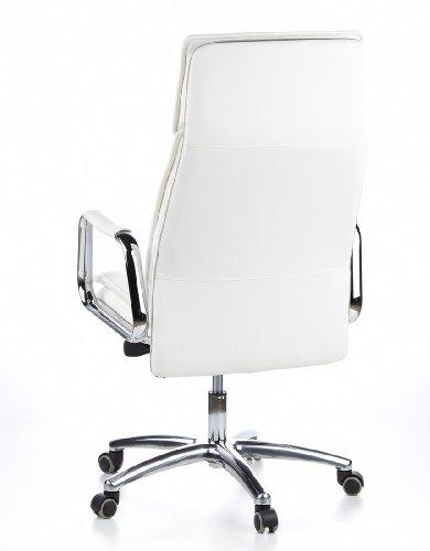 HJH OFFICE 600922 Bürostuhl / Chefsessel VILLA 20 Nappaleder elfenbein - 9