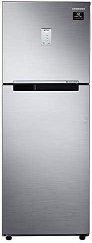 Samsung 253 L 3 Star with Inverter Double Door Refrigerator (RT28A3453S8/HL, Grey, Elegant Inox)
