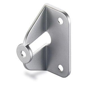 Griffadapter für Faltschiebetüren für 20 mm Türstärken, Verchromt Matt