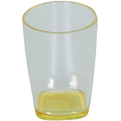MSV 140373 Gobelet Plastique Jaune Polypropylène