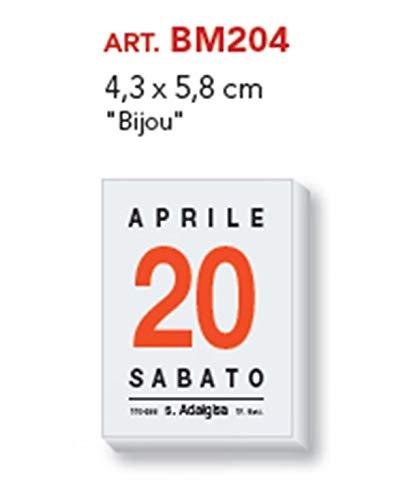 Calendario A Strappo.Calendario A Strappo Blocco Da Muro 2019 4 3x5 8 Articolo 204 Bijou