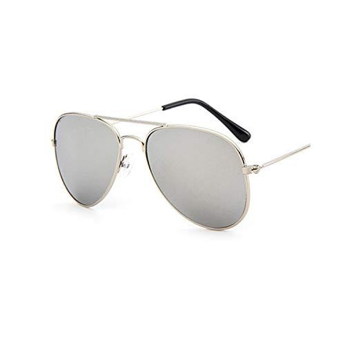 Vikimen Sportbrillen, Angeln Golfbrille,NEW Lovely-Brand-Designer-Sun-Glasses-For-Children-Cool-Mirror-Reflective-Meta L-Frame-Kids-Sunglasses-Girls Sunglass 6
