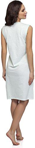 Merry Style Camicia da Notte per Donna M1R32 Verde/Blu Scuro