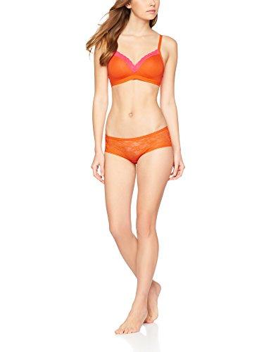 Iris & Lilly Damen Body Natural BH gepolstert bügellos Orange (Mandarin Orange)