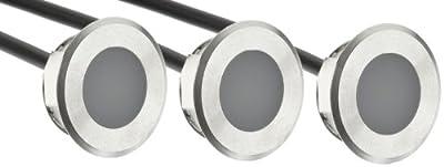 Dot-spot 4400-WW LED Komplettset 12V IP68 0.25W pro Leuchte WW von Dot-spot auf Lampenhans.de