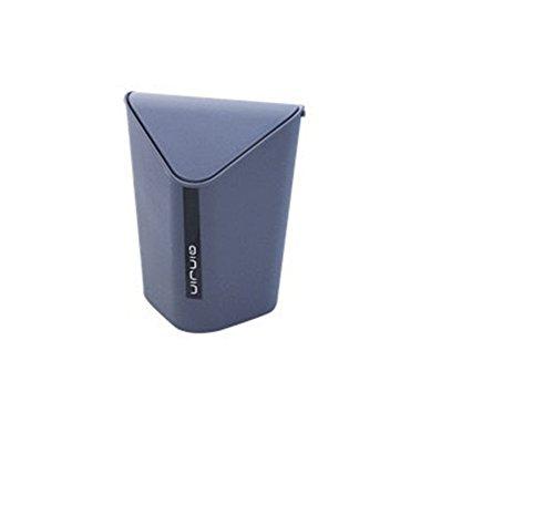 Xuxuou 1 Stück Mülleimer Müllbehälter Desktop-Mülleimer Kunststoff Mini-Mülleimer Abfalleimer Küchenabfalleimer Einfacher Abfallbehälter fürs Bad Büro Küche
