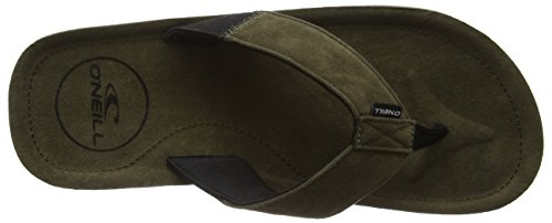 O'Neill Fm Chad, Tongs homme Grün (Olive Leaves 6043)