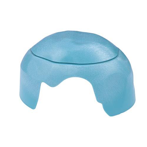 e Reptile Hide Tortoise Versteck mit Keramikschale (Blau) ()