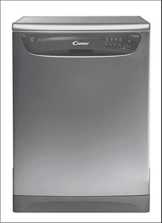Candy CDF 322 AX/1 Sous comptoir 12places A lave-vaisselle - lave-vaisselles (Sous comptoir, Acier inoxydable, Acier inoxydable, LED, 12 places, 52 dB)