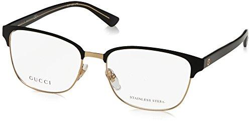de2063bd8c1eb Gucci - Monture de lunettes - Femme Noir noir or 54