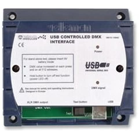 USB CONTROLLED DMX INTERFACE BPSCA VM116 - HK01046 Di VELLEMAN KIT - Usb Dmx Interface