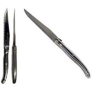 Amefa - 185317 - Lot de 12 couteaux laguiole inox