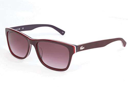 Lacoste Unisex-Erwachsene L683S Sonnenbrille, Rot, 55