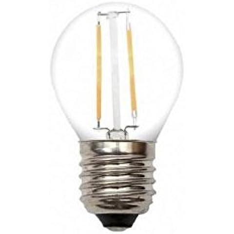 DC 12Volt, attacco Edison designare esterni 2watt lampada LED filamento G45E26E27MEDIUM base lampada bassa tensione cordino ciondolo architettura paesaggistica Mast Binario veranda illuminazione 2.00 wattsW 12.00 voltsV