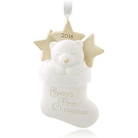 Hallmark-Baby 2014 s First Christmas Stocking- per