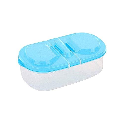 AiBarle Home Living Slide Kühlschrank Gefrierschrank platzsparend Organisations-Ablage Regal Küche Box Hot (blau)