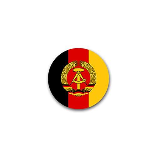 Aufkleber/Sticker DDR Wappen Deutsche Demokratische Republik 7x7cm A1843