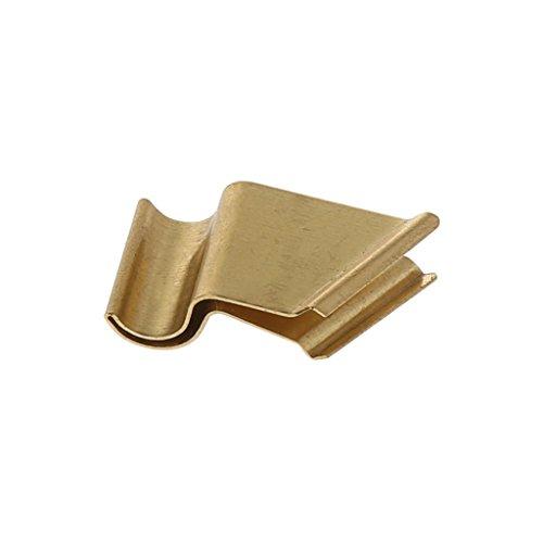 Dip Pen - Vintage English Kalligraphie Kupferplatte variabler schräger Dip Pen Metallflansch gold